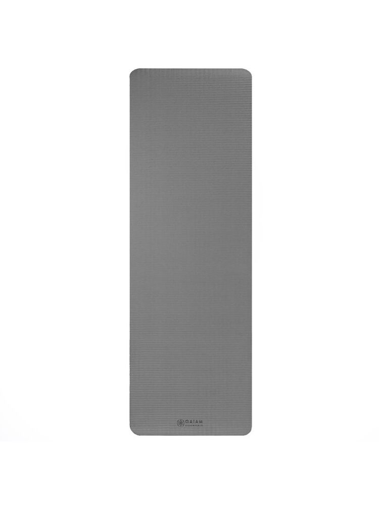 10 mm Fitness Gaiam mat with strap